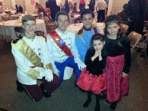 princes and girls